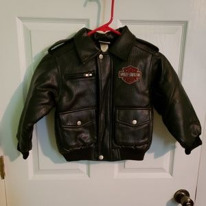 Harley Davidson Simulated Leather Jacket size 6